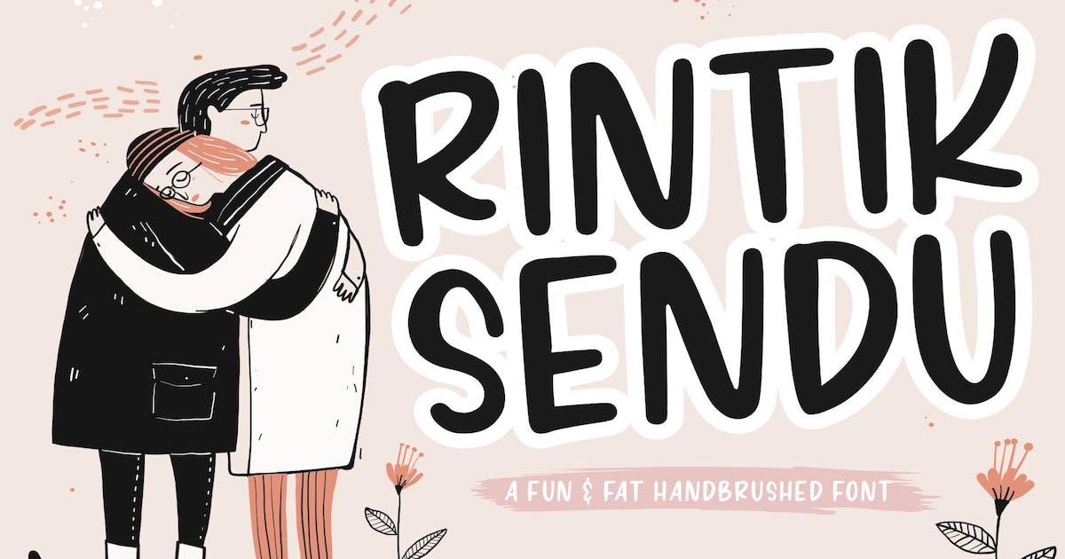 Download Rintik Sendu Brush Font YH by GranzCreative