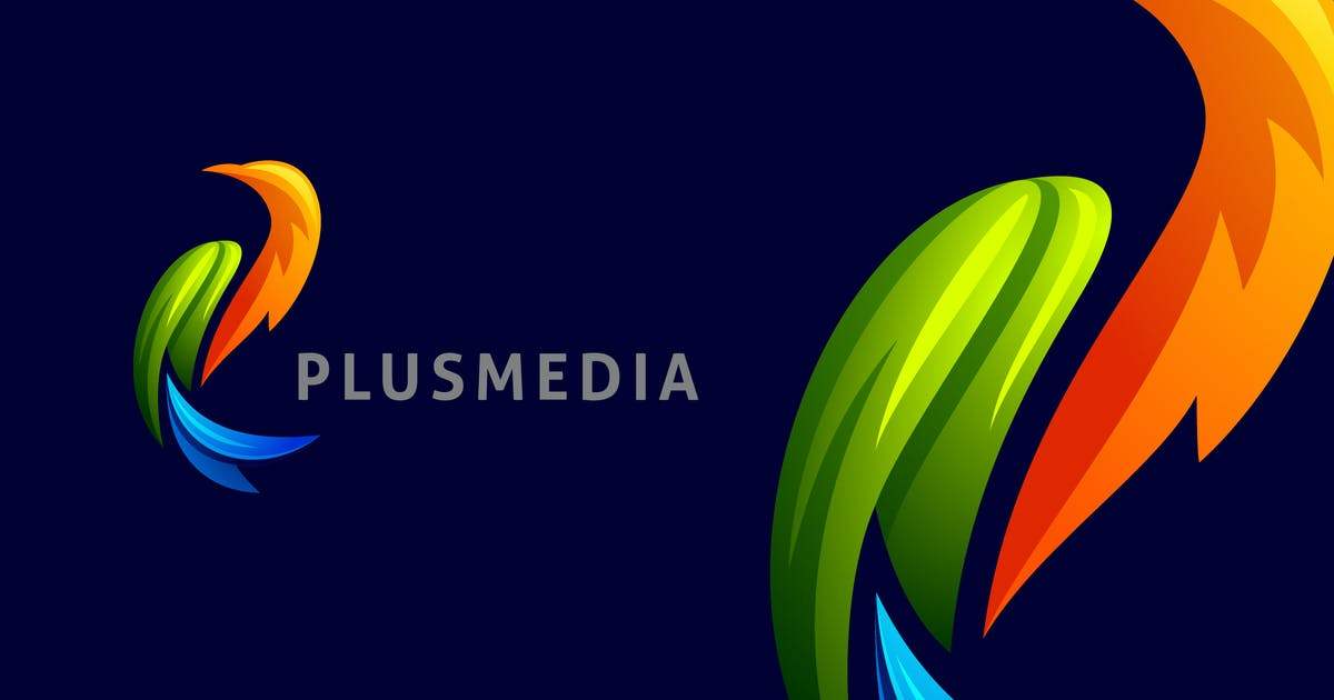 Download Dynamic Vivid Colorful Bird Logo by Suhandi