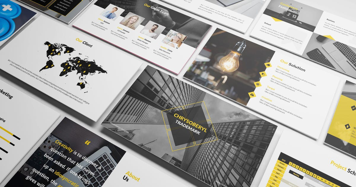 Download Chrysoberyl - Corporate Keynote Template by Incools