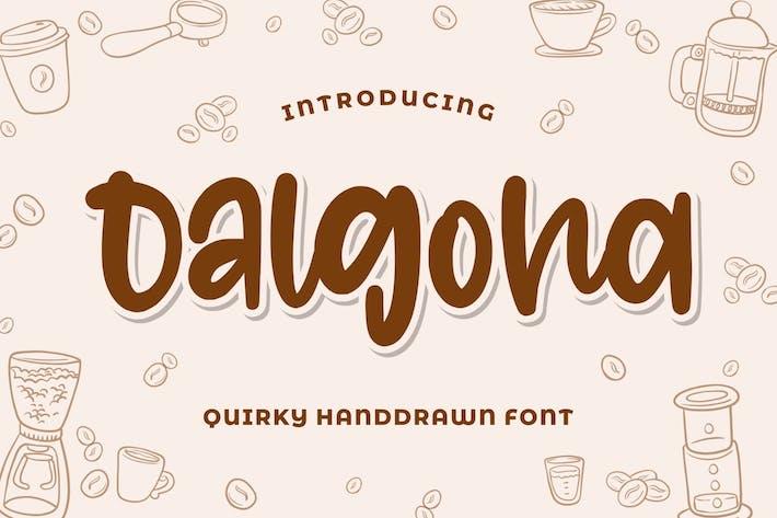 Dalgona - Fuente extravagante