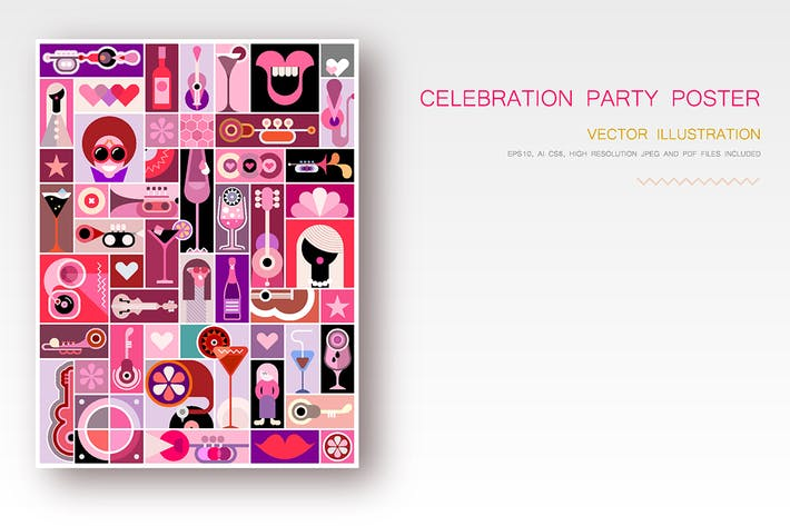 Cover Image For Celebration Party vector design