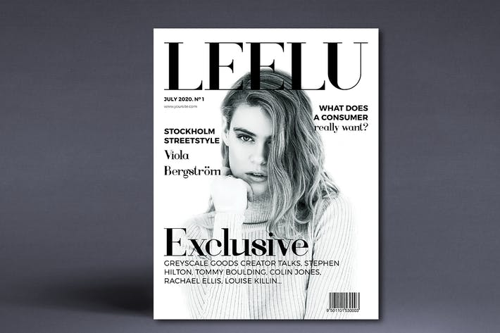 Thumbnail for LEELU - Fashion Magazine