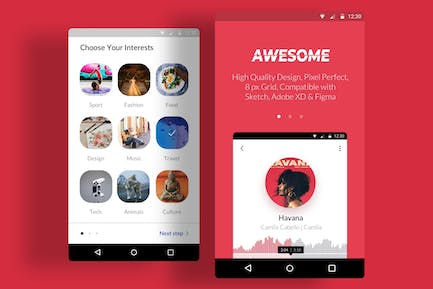Awesome Onboard Android App