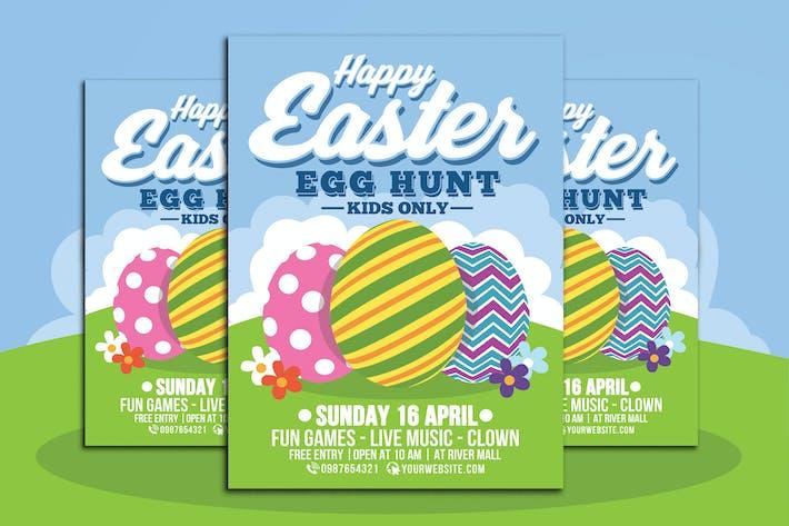 Thumbnail for Happy Easter Egg Hunt For Kids