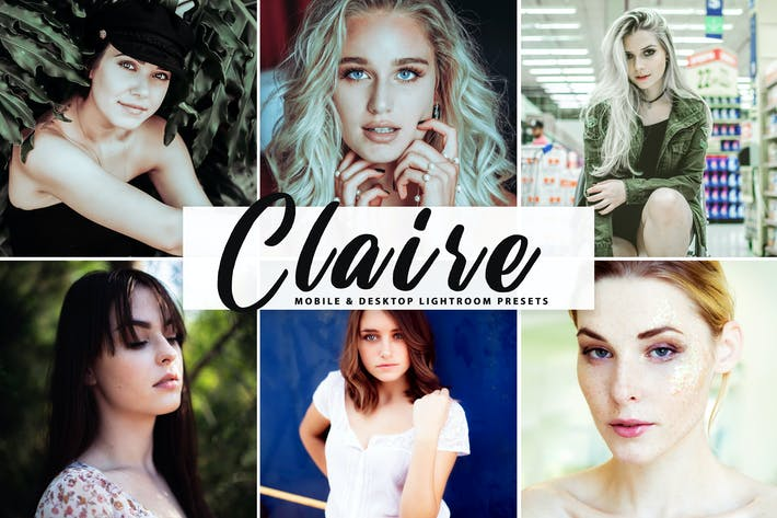 Thumbnail for Claire Mobile & Desktop Lightroom Presets
