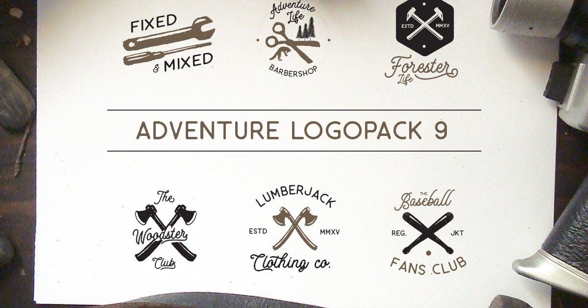 Download Adventure Logopack Vol. 9 by letterhend