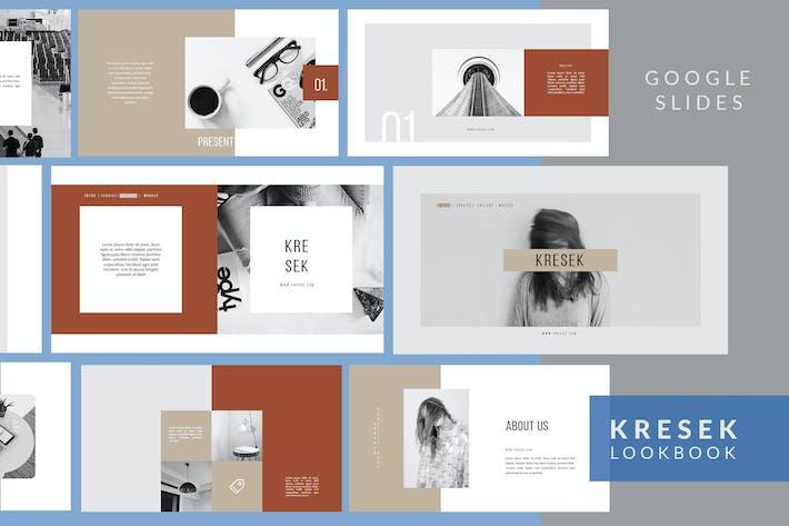 Thumbnail for Kresek Lookbook - Google Slides Presentation