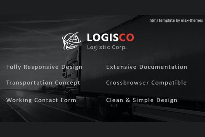 Download 8 Logistic Website Templates - Envato Elements