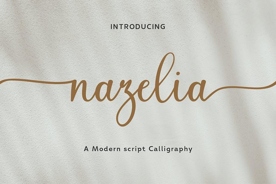 Nazelia Modern Script