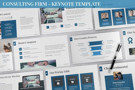 Consulting Firm - Keynote Template