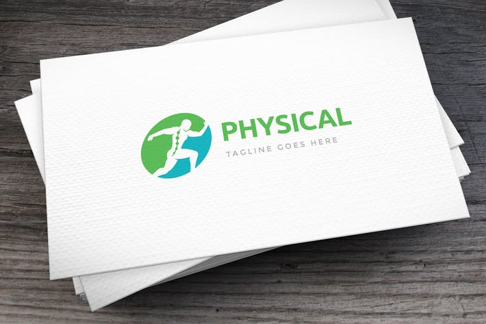 Thumbnail for Sport Physical Rehab Logo Template