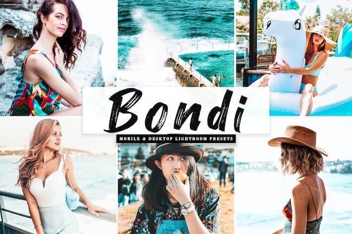 Thumbnail for Bondi Mobile & Desktop Lightroom Presets