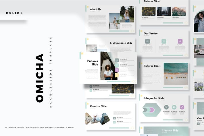 Thumbnail for Omicha - Google Slide Template