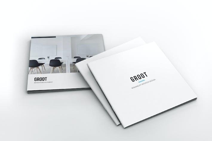 Thumbnail for Groot Interior Design Square Brochure