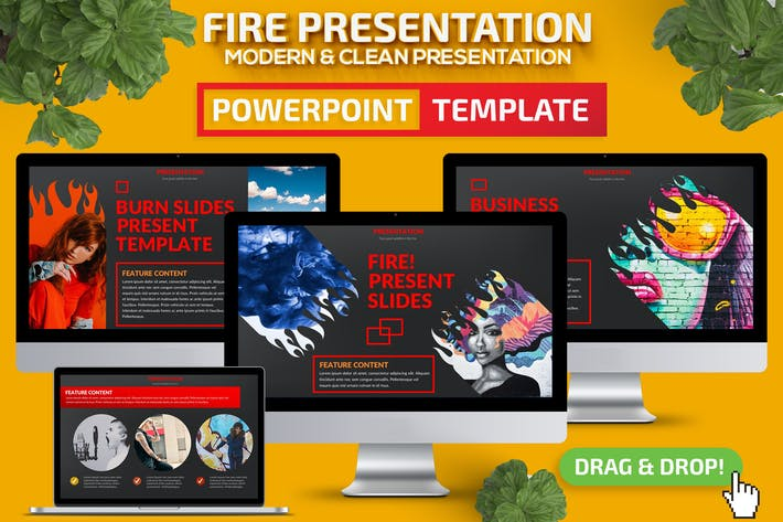 Thumbnail for Fire Powerpoint Presentation Template