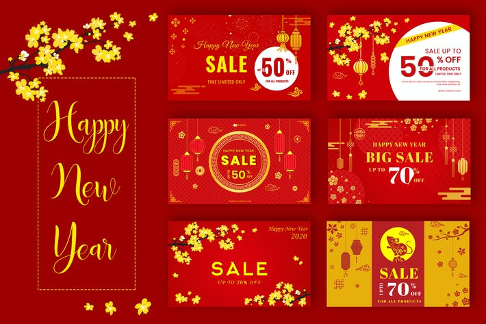 Thumbnail for Sale Off - Happy Lunar New Year