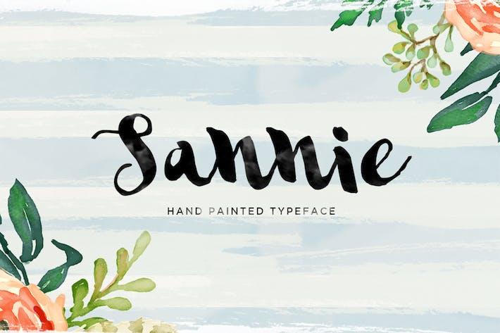 Thumbnail for Sannie Typeface