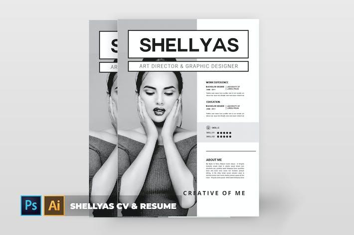 Thumbnail for Shellyas | CV & Resume