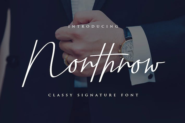 Thumbnail for Northrow Yp - Police d'écriture manuscrite