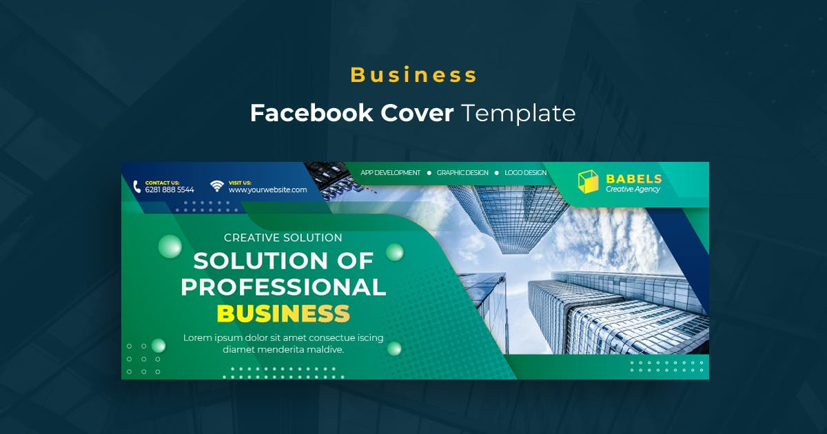 Download Business r13 Facebook Cover Template by youwes