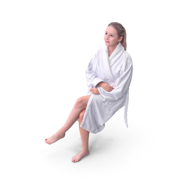 Spa Woman Sitting