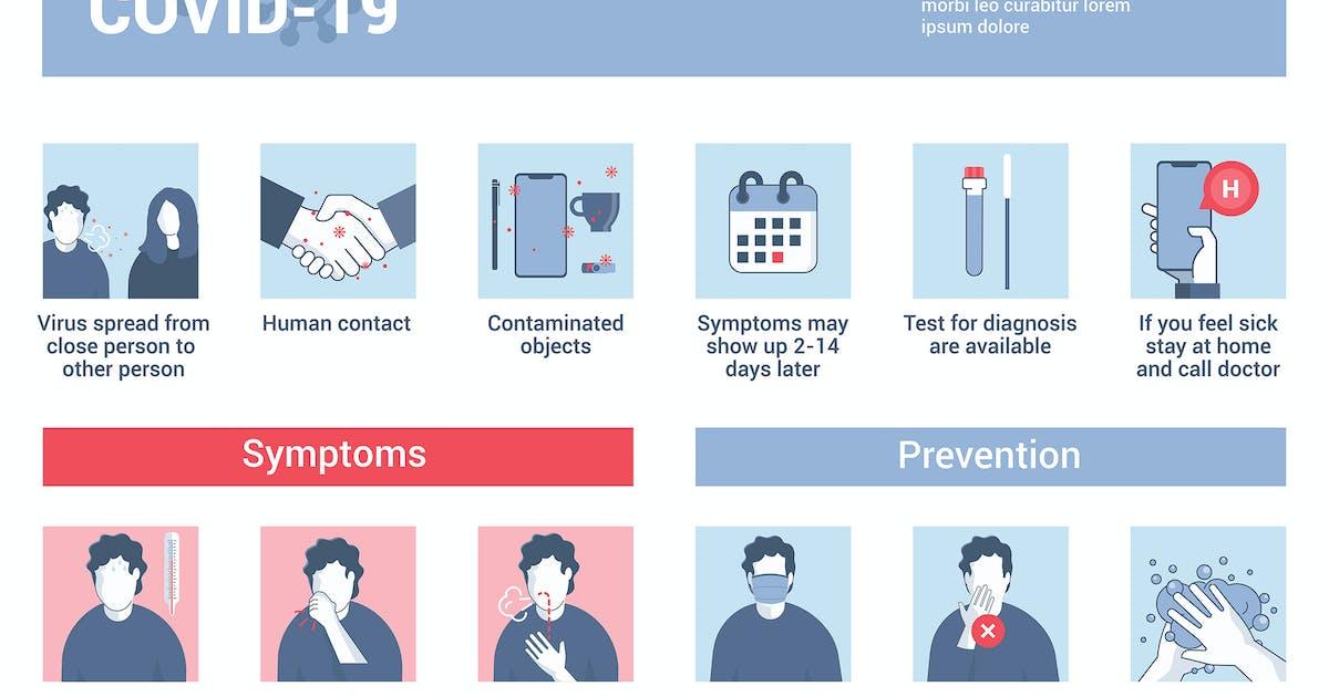 Download Coronavirus 2019-nCoV prevention tip by graphics4u
