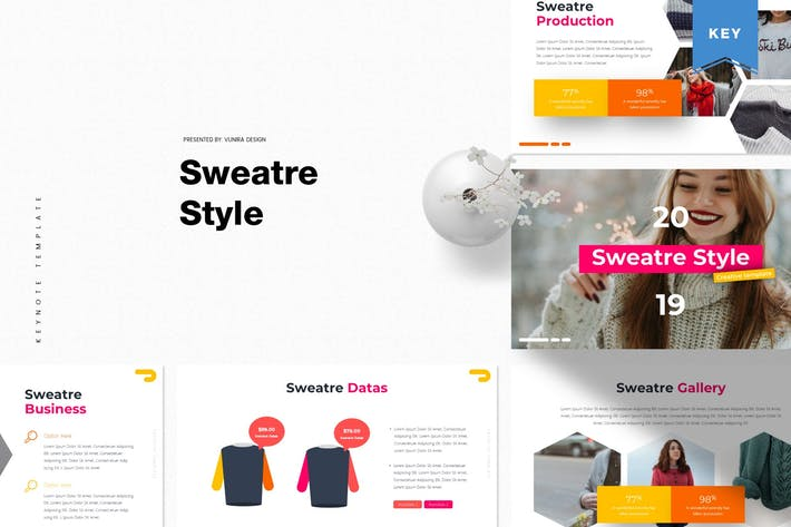 Thumbnail for Sweatre Style | Keynote Template