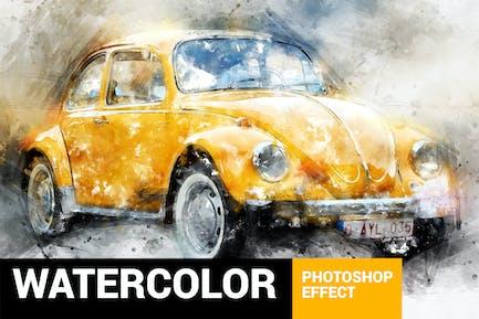 Perfectum 3 - Watercolor Master Photoshop Action