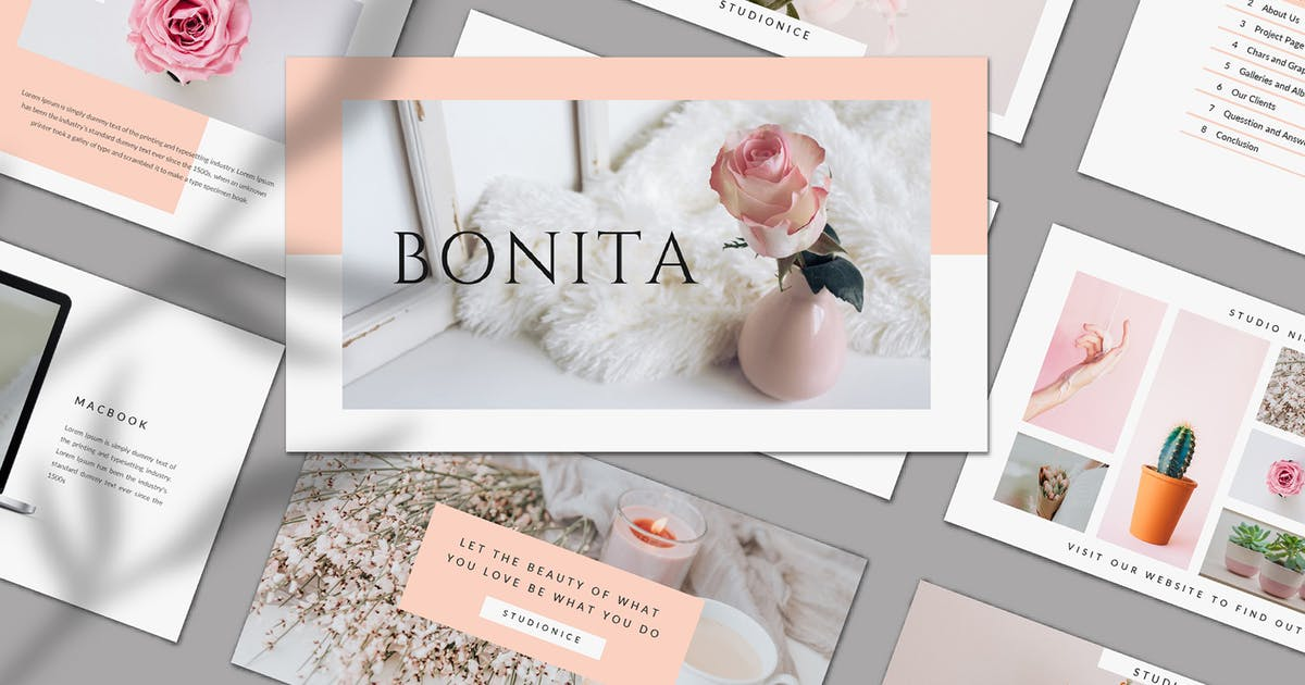 Download Bonita Bundle Presentation by axelartstudio