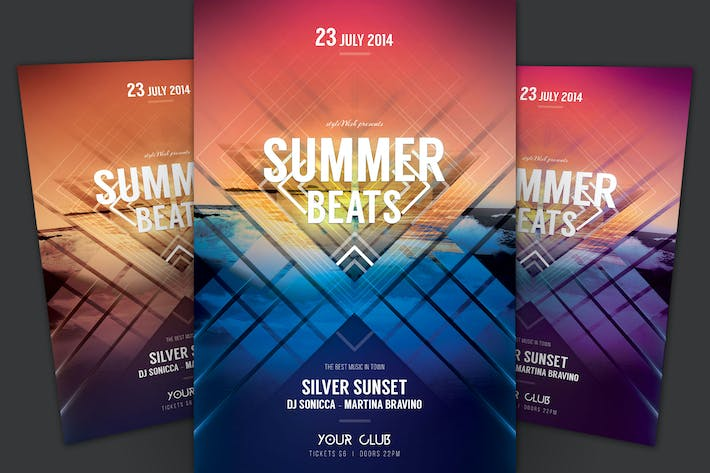 Thumbnail for Summer Beats Flyer