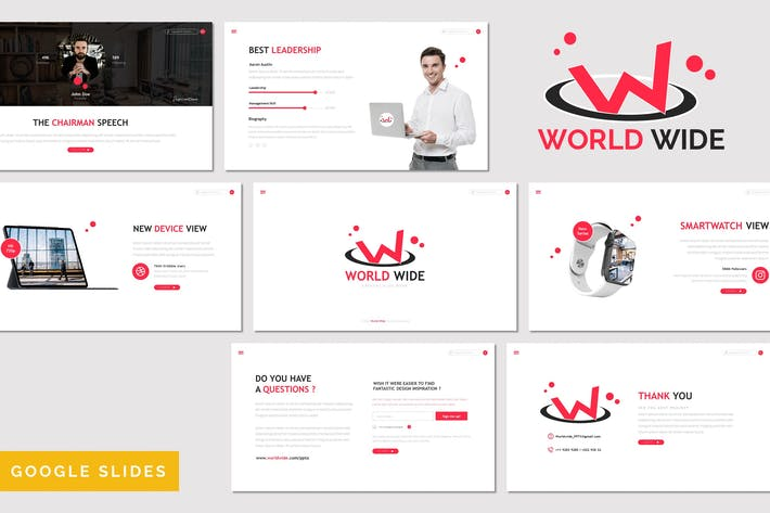 Thumbnail for World Wide - Multipurpose Google Slides Template
