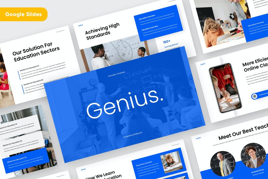 GENIUS - Education Google Slides Template