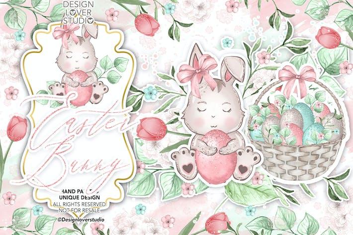 Thumbnail for Sweet Easter Bunny design