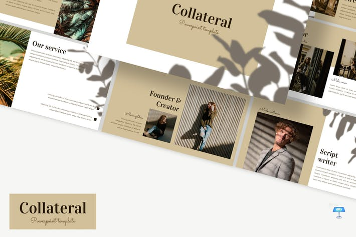 Thumbnail for Collateral - Keynote Template