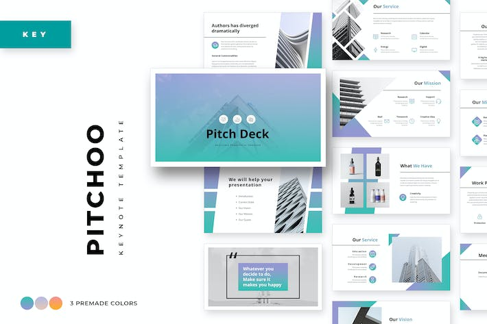 Thumbnail for Pitchoo Business Keynote Template
