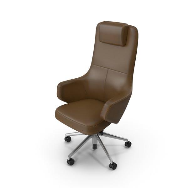 Thumbnail for Silla de oficina marrón