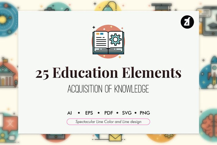 Thumbnail for 50 Education elements