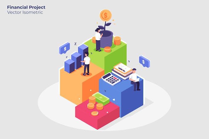 Thumbnail for Finanzprojekt - Vektor darstellung