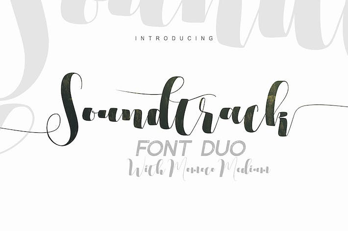 Thumbnail for Soundtrack Font Duo
