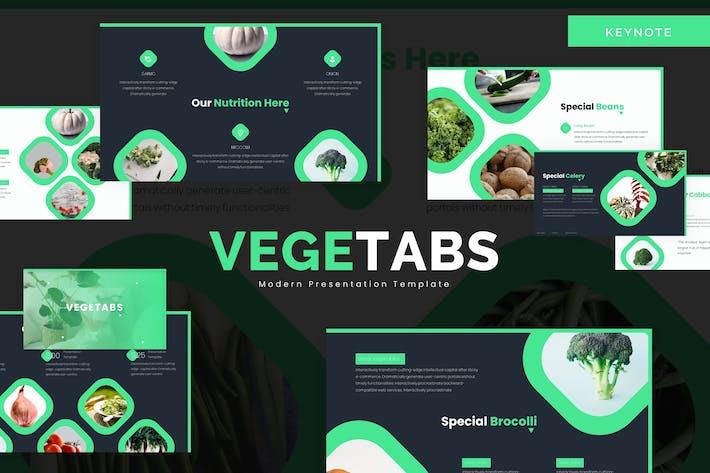 Vegetabs - Keynote Template
