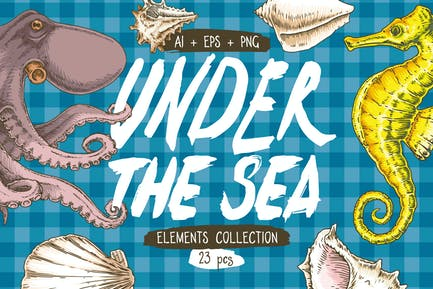 Under the Sea elements collection