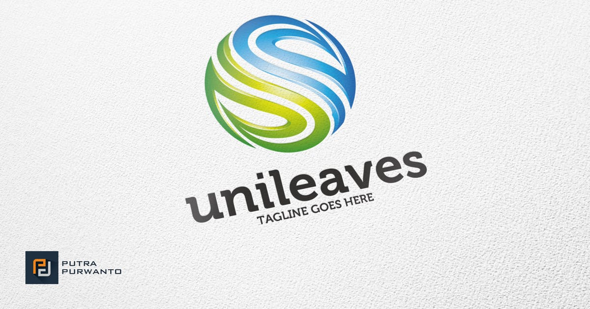 Download Unileaves / Nature - Logo Template by putra_purwanto