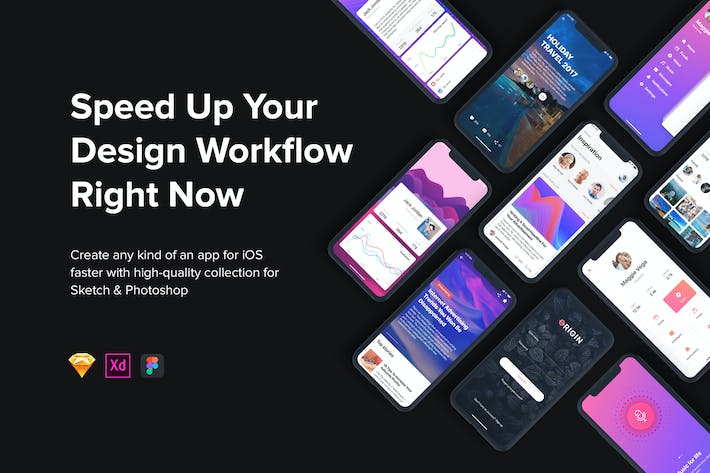 Thumbnail for Origin Mobile UI Kit