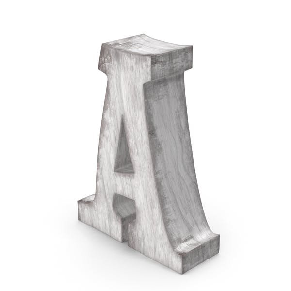 Wooden Decorative Letter A
