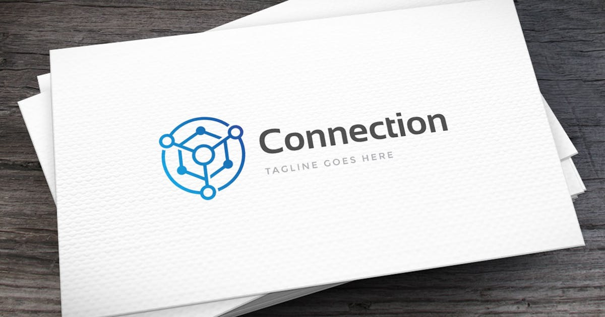 Connection Logo Template by empativo