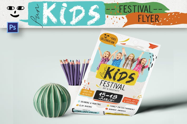 Thumbnail for Fun Kids Festival dépliant