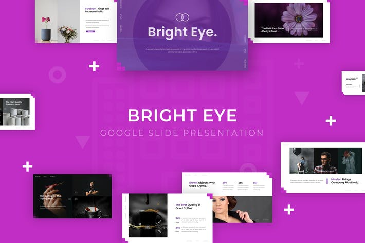 Thumbnail for Bright Eye - Google Slide Template