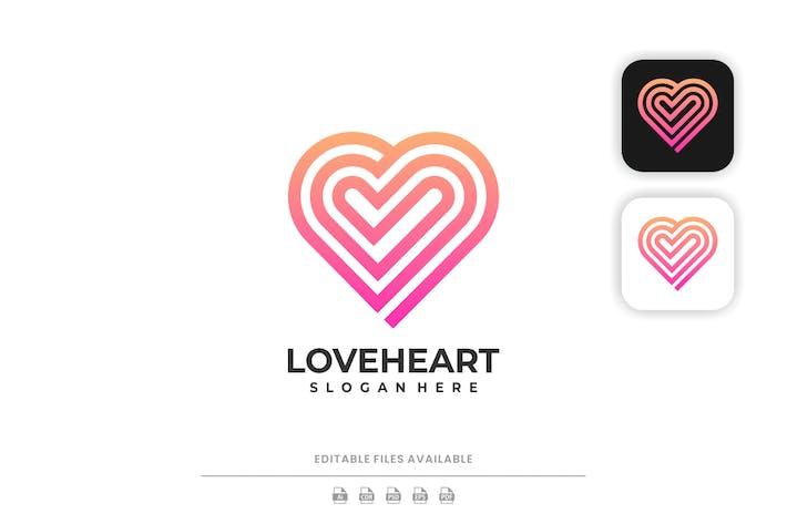 Love Line Art Logo