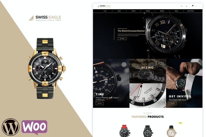 Thumbnail for Swiss Eagle - WooCommerce Shop Theme