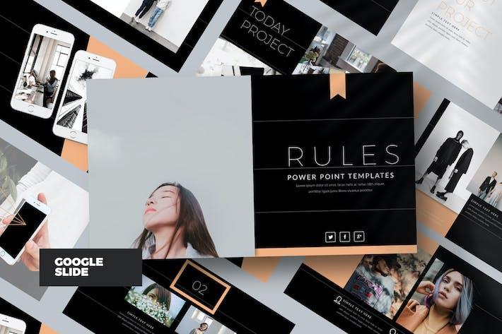 Thumbnail for RULES DARK Google Slide